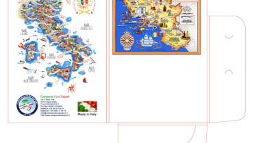 Campania Food, cartellina