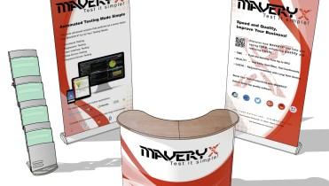 Maveryx: isola promozionale fiera
